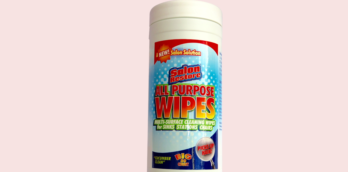 All Purpose Wipes 50 count cannister